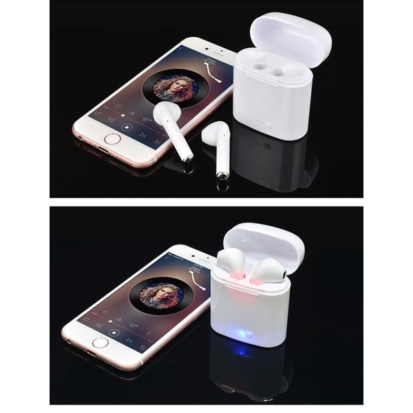 ワイヤレスイヤホン イヤフォン Bluetooth 4.2 ブルートゥース 充電ケース付き iPhone アンドロイド メール便のみ送料無料3♪3月10日から20日発送予定|store-delight|09