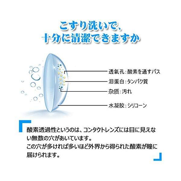 Blumway 超音波洗浄機 レンズクリーナー ミニ超音波洗浄器 蛋白除去 (ホワイト)|store309|02