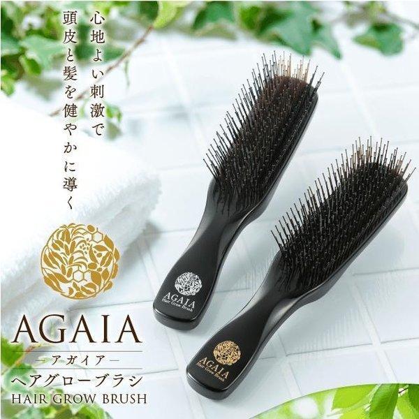 スカルプブラシ アガイア ヘアグローブラシ ハードタイプ 育毛 薄毛 ブラシ 頭皮 乾燥 美髪 マッサージ スカルプケア 血行促進|storebiotech