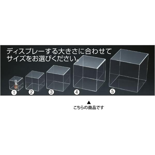 アクリルボックス 4面 透明 25cm角 コレクションケース 展示|storeplan|02