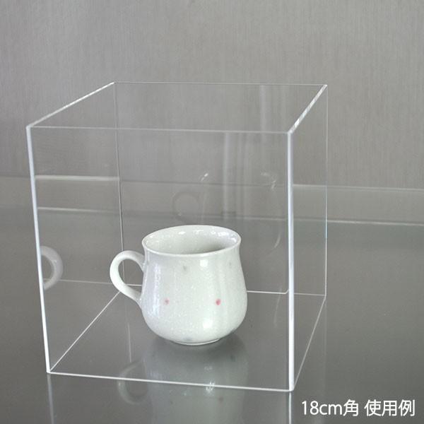 アクリルボックス 4面 透明 25cm角 コレクションケース 展示|storeplan|03