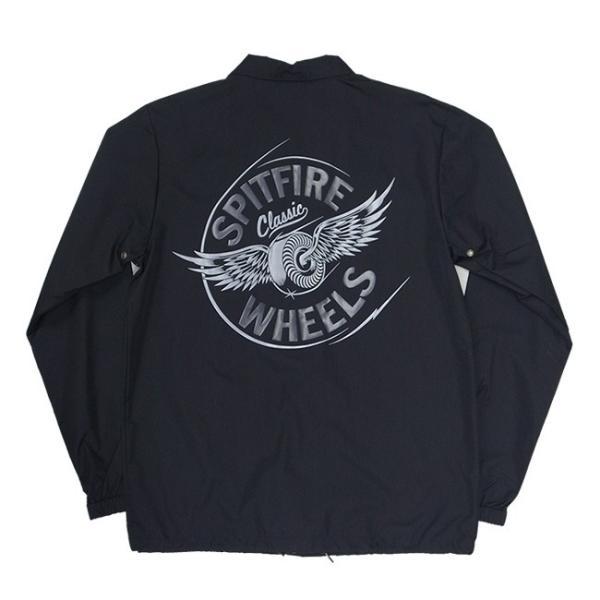 SPITFIRE FLYING CLASSIC COACHES JACKET BLACK スピットファイヤー フライング クラシック コーチジャケット ブラック 18h|stormy-japan|04