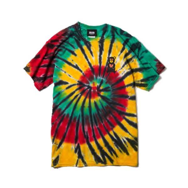 DEVILUSE Bear Jr Tie Dye T-shirts Multicolor Orange デビルユース 半袖 タイダイ Tシャツ マルチカラー オレンジ 19aw stormy-japan 02