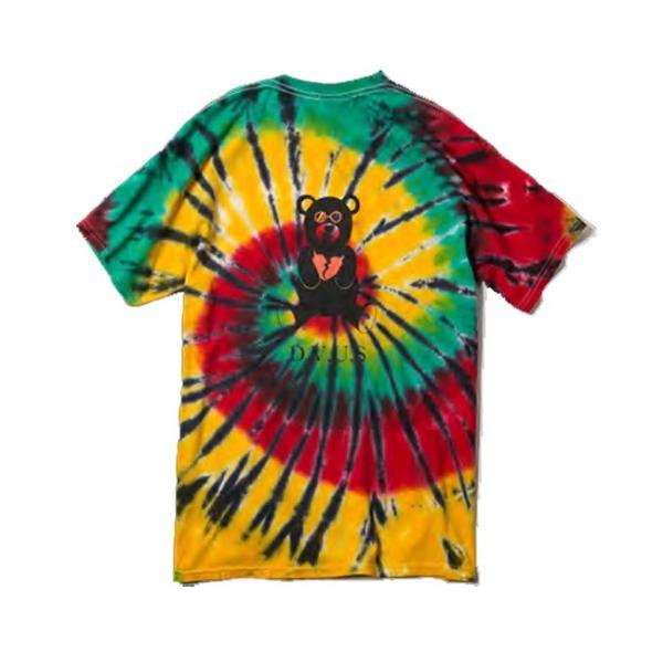 DEVILUSE Bear Jr Tie Dye T-shirts Multicolor Orange デビルユース 半袖 タイダイ Tシャツ マルチカラー オレンジ 19aw stormy-japan 04