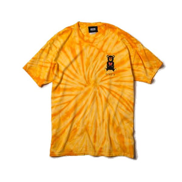 DEVILUSE Bear Jr Tie Dye T-shirts Multicolor Orange デビルユース 半袖 タイダイ Tシャツ マルチカラー オレンジ 19aw stormy-japan 06