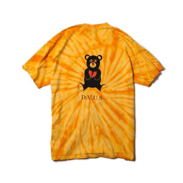 DEVILUSE Bear Jr Tie Dye T-shirts Multicolor Orange デビルユース 半袖 タイダイ Tシャツ マルチカラー オレンジ 19aw stormy-japan 08