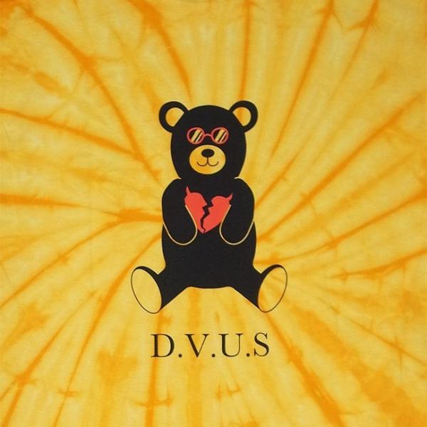 DEVILUSE Bear Jr Tie Dye T-shirts Multicolor Orange デビルユース 半袖 タイダイ Tシャツ マルチカラー オレンジ 19aw stormy-japan 09
