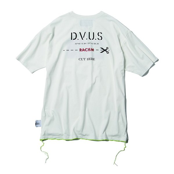 DEVILUSE Claim Big T-shirts White Purple Tan デビルユース 半袖 ビッグ Tシャツ ホワイト パープル タン 19aw|stormy-japan|03