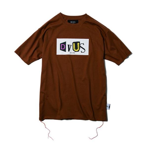 DEVILUSE Claim Big T-shirts White Purple Tan デビルユース 半袖 ビッグ Tシャツ ホワイト パープル タン 19aw|stormy-japan|05