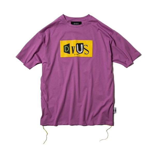 DEVILUSE Claim Big T-shirts White Purple Tan デビルユース 半袖 ビッグ Tシャツ ホワイト パープル タン 19aw|stormy-japan|08