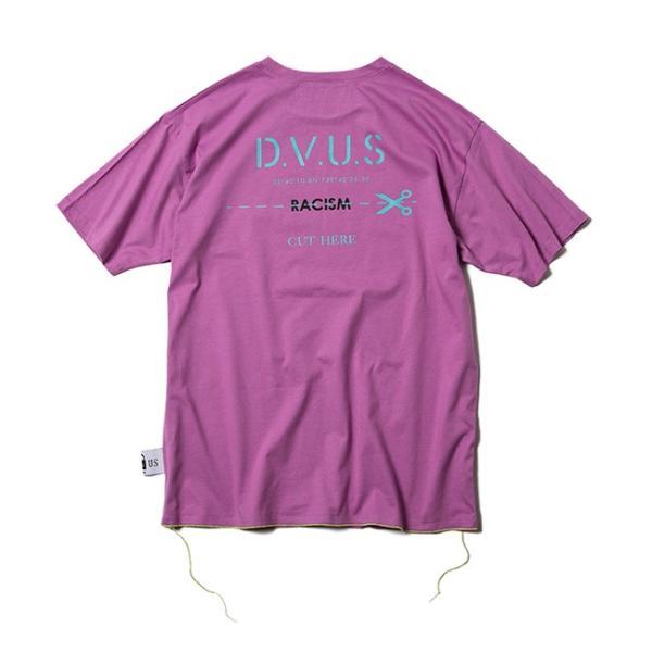 DEVILUSE Claim Big T-shirts White Purple Tan デビルユース 半袖 ビッグ Tシャツ ホワイト パープル タン 19aw|stormy-japan|09