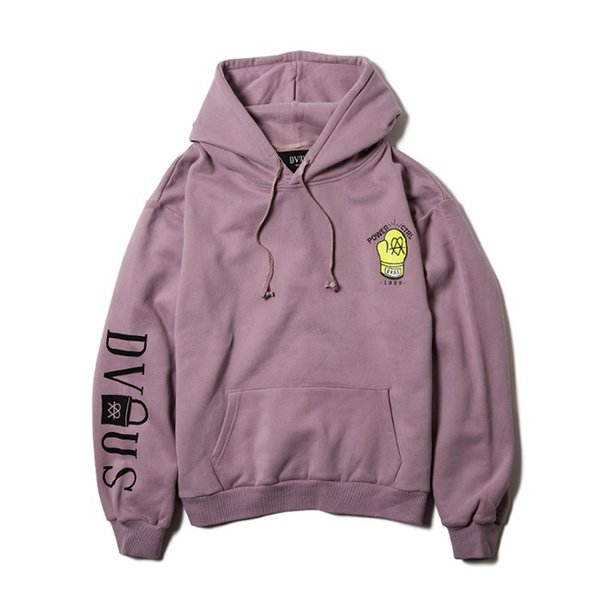 DEVILUSE STAND AGAINST Pullover Hooded Sweat Brown Lavender DullBlue デビルユース パーカー プルオーバー フード スウェット 19aw stormy-japan 04