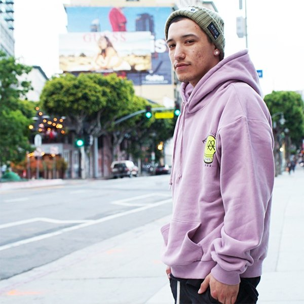 DEVILUSE STAND AGAINST Pullover Hooded Sweat Brown Lavender DullBlue デビルユース パーカー プルオーバー フード スウェット 19aw stormy-japan 08