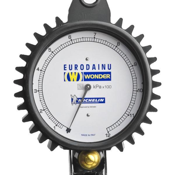 Michelin(ミシュラン) エアーゲージ ユーロダイヌ 70〜1,200(KPa) No.1991 STRAIGHT/15-01991 (Michelin/ミシュラン)|straight-toolcompany|02