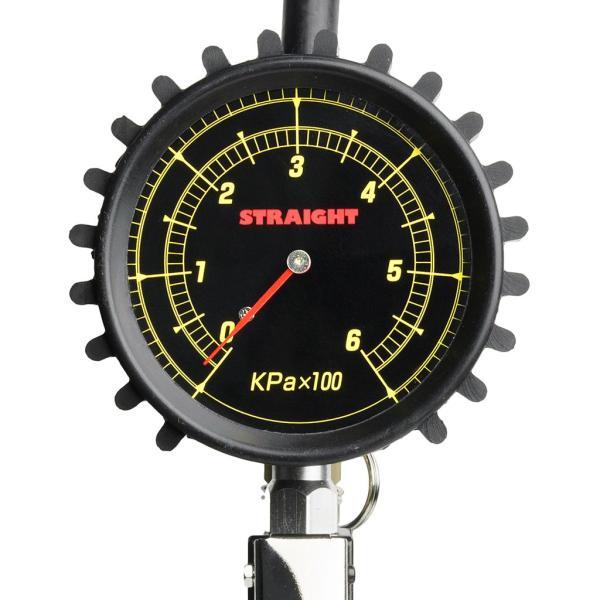 エアーゲージ 600kPa STRAIGHT/15-297 (STRAIGHT/ストレート)|straight-toolcompany|02