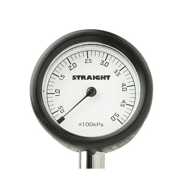 エアーゲージ メッシュホースタイプ 500kPa STRAIGHT/15-640 (STRAIGHT/ストレート)|straight-toolcompany|02