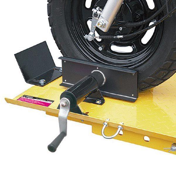 バイクリフト 油圧式 200kg STRAIGHT/15-784 (STRAIGHT/ストレート)|straight-toolcompany|03