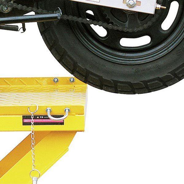 バイクリフト 油圧式 200kg STRAIGHT/15-784 (STRAIGHT/ストレート)|straight-toolcompany|04