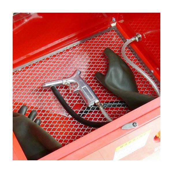 サンドブラストキャビネット M STRAIGHT/15-959 (STRAIGHT/ストレート)|straight-toolcompany|02