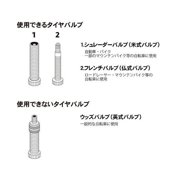 GIYO(ジーヨ) 自転車用空気入れ 携帯式 GM-71 STRAIGHT/22-120 (STRAIGHT/ストレート)|straight-toolcompany|05