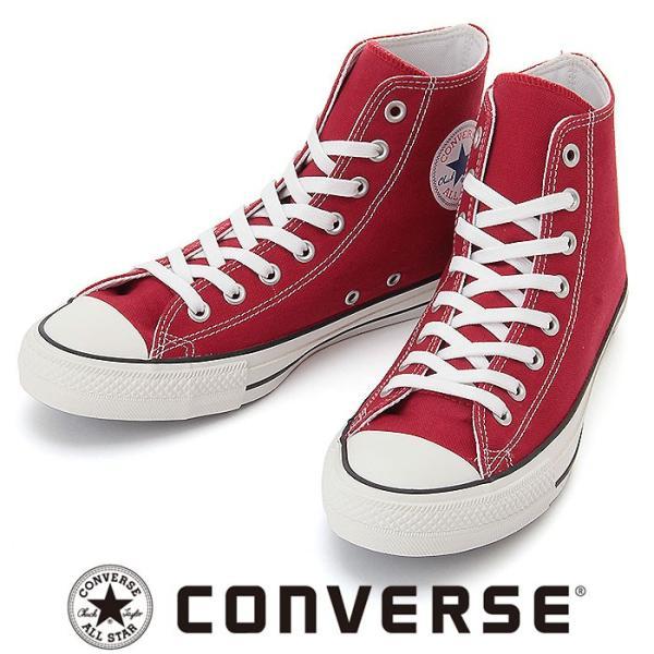 CONVERSE 100周年モデル ハイカット コンバース オールスター100カラーズ メンズ レディース レッド おすすめ 即納 販売 キャンバス 靴 カジュアル リアクト|streetbros