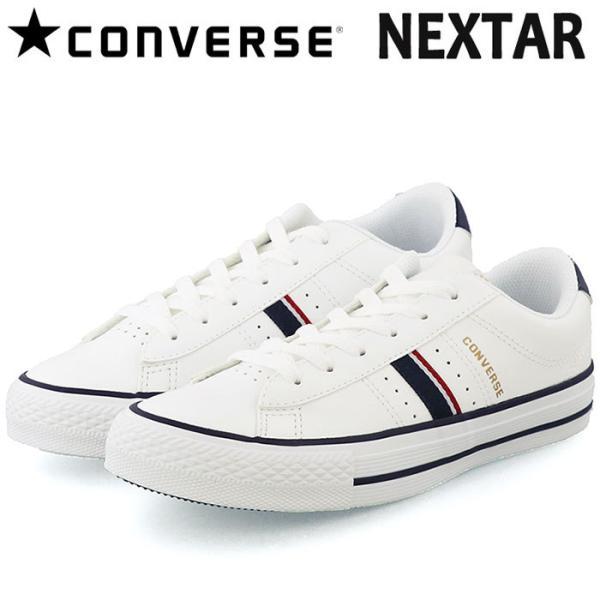 コンバーススニーカーネクスター120PTOXローカットホワイト白色38000510