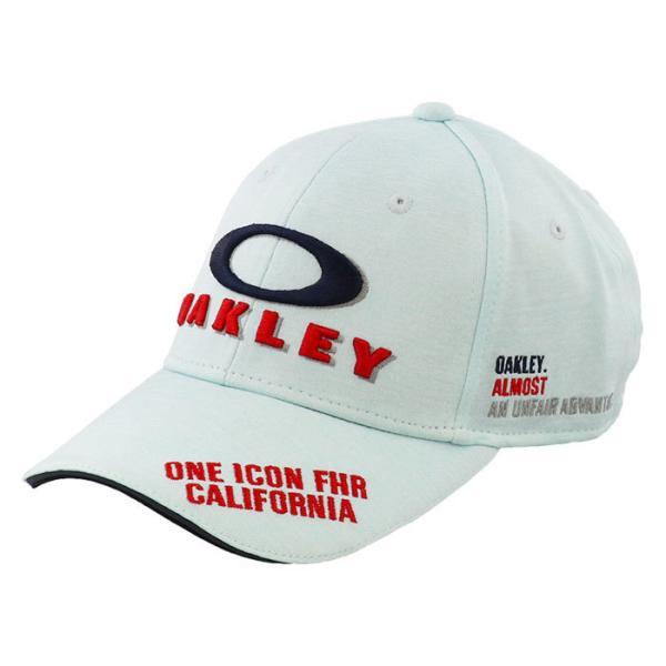 オークリーGOLFキャップゴルフ帽子ロゴCAP吸汗速乾ゴルフホワイトOAKLEYFOS900659