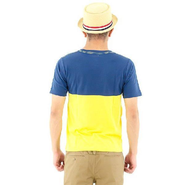 アメカジ Tシャツ 半袖ティーシャツ メンズTシャツ ポケットTシャツ PEYOTE T-Shirts ペヨテ PT13SS-BCTEE ネイビー イエロー アメカジファッション アメリカン|streetbros|02