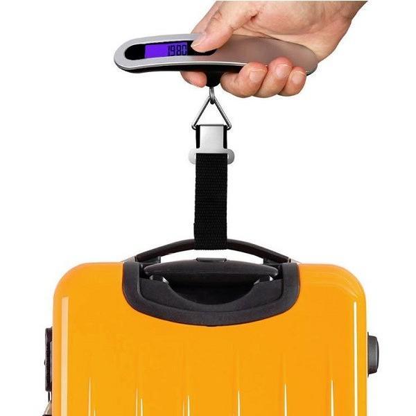 ラゲッジチェッカー デジタルスケール 人気 吊り下げ式 最大50kg 携帯式 液晶付スケール 空港 旅行 荷物 計量 はかり スーツケース 測定 T型スケール 電子計量器|stressfree|05