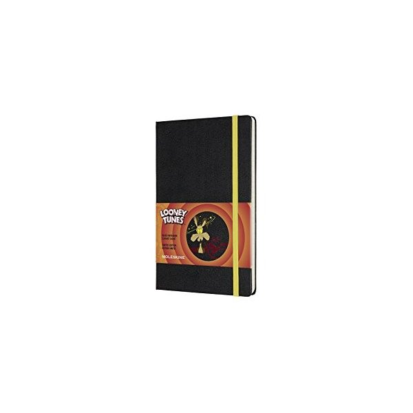 モレスキン ノート 限定版 ノートブック ルーニー・テューンズ (ワイリー・コヨーテ) 罫線 ラージ LELTQP060WL|stride-snap