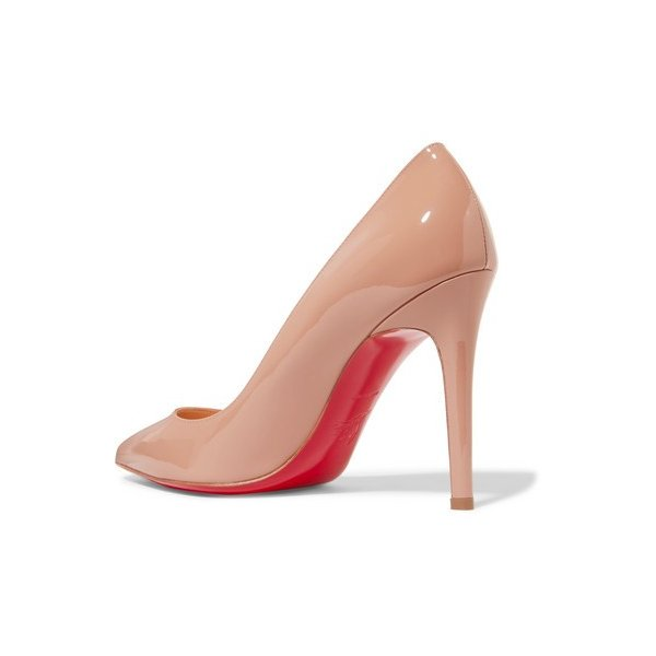 Christian Louboutin/クリスチャン・ルブタン パンプス Pigalle 100 patent-leather pumps