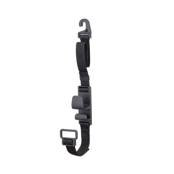 ナポレックス 車用収納フック シートフック ブラック 耐荷重5kg 買い物袋の荷崩れ防止 汎用 Fizz-963|studieshop