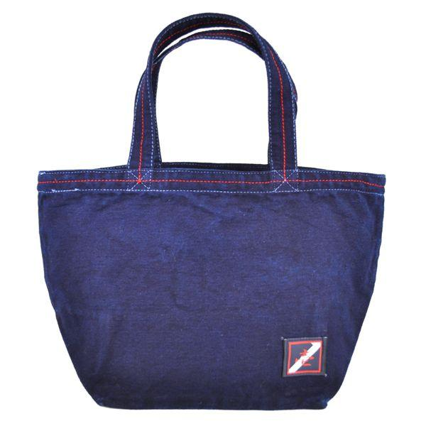 琉球藍染め ランチバッグ 和柄 トートバッグ