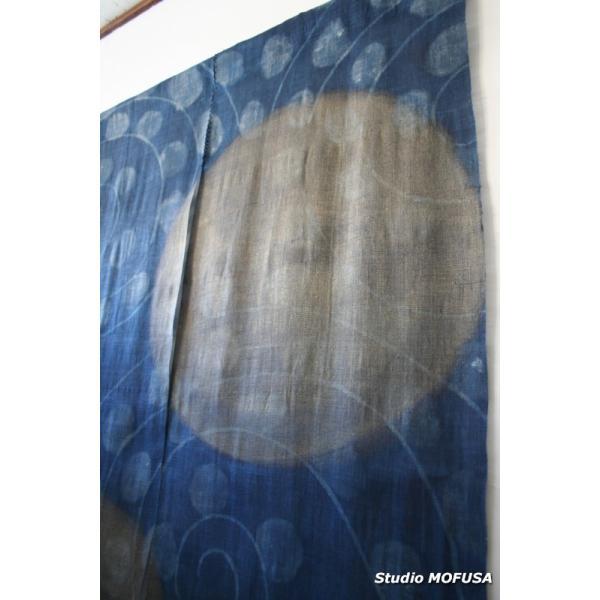 暖簾 のれん N-3202 本麻 半間 90cmx130cm|studio-mofusa|04