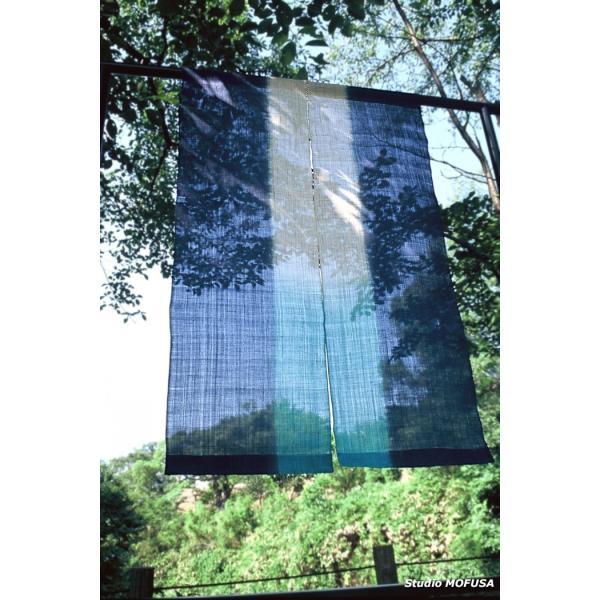 暖簾 のれん N-2101 本麻 半間 90cmx130cm|studio-mofusa