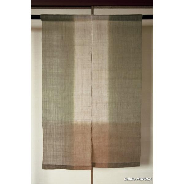 暖簾 のれん N-2101 本麻 半間 90cmx130cm|studio-mofusa|02