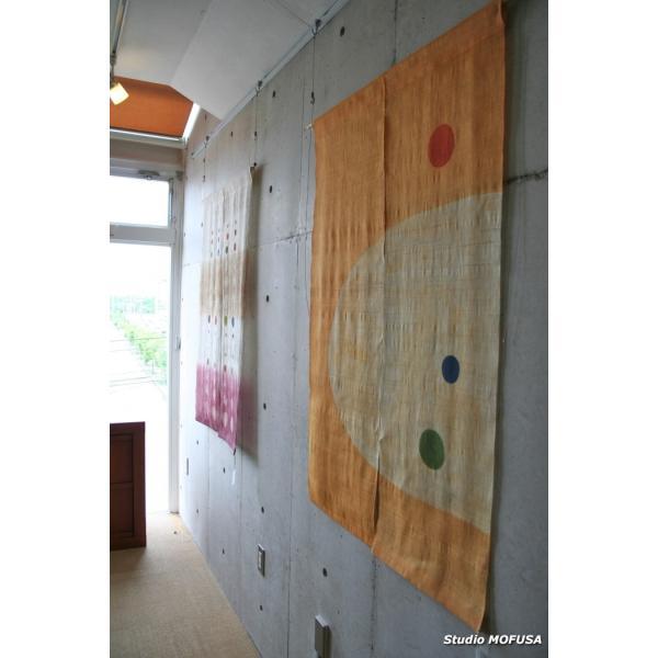 暖簾 のれん N-3703 本麻 半間 90cmx120cm|studio-mofusa|02