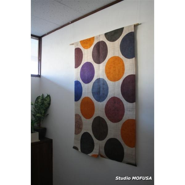 暖簾 のれん N-4102 本麻  半間 90x130cm|studio-mofusa