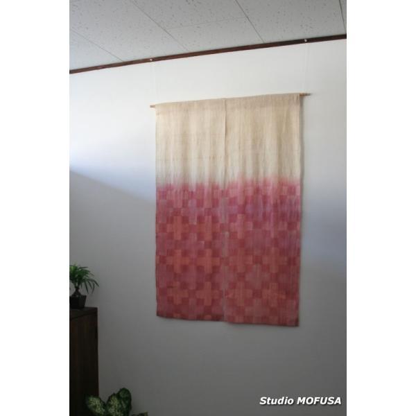 暖簾 のれん N-5203 本麻  半間 90x130cm|studio-mofusa