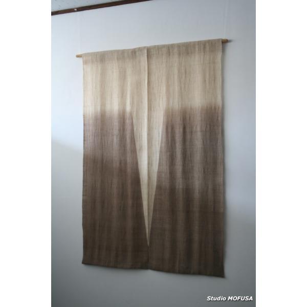暖簾 のれん N-7302 本麻 半間 90x120cm|studio-mofusa
