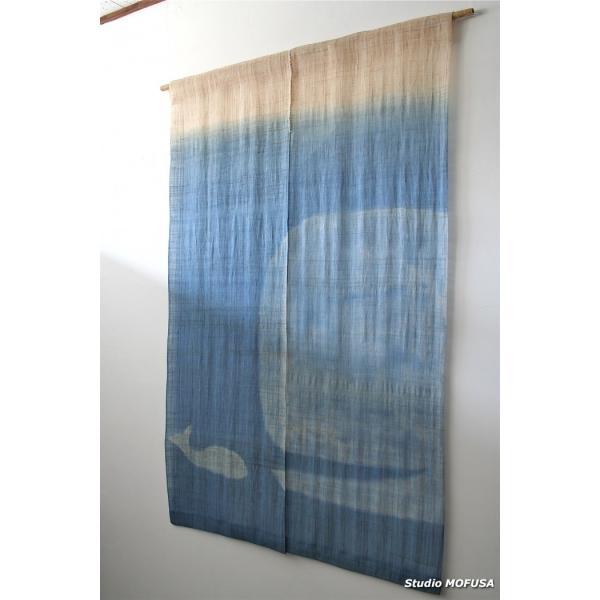 暖簾 のれん N-7501 本麻  半間 90x130cm|studio-mofusa