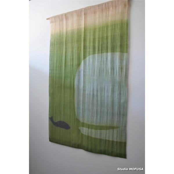 暖簾 のれん N-7501 本麻  半間 90x130cm|studio-mofusa|02