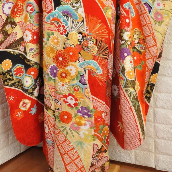 十日町振袖 オーダーメイド 単品 購入  ブランド/Girl's Mode×わたなべ麻衣 お誂え仕立付/結婚式/成人式/卒業式/着物/20-616NK|studiodaigo|03