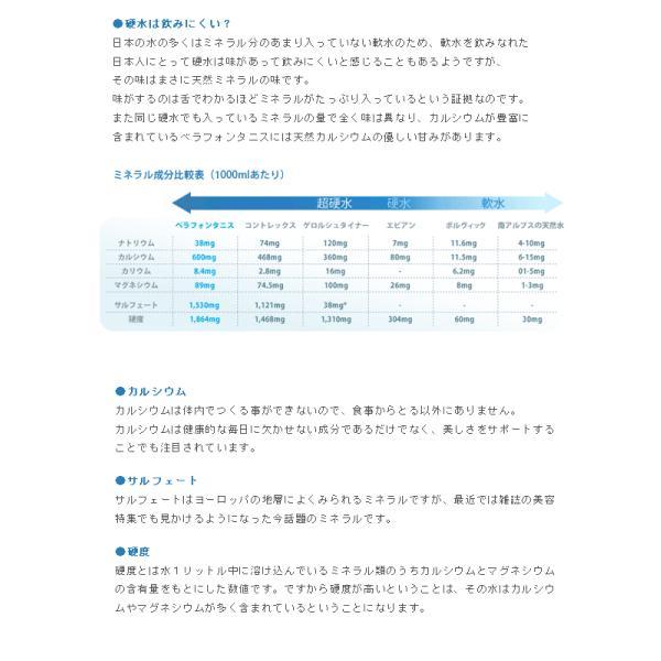 美容系スパークリングミネラルウォーター ベラフォンタニス BELLA FONTANIS 750ml×15本(1ケース)*同梱不可*|style-depot|03