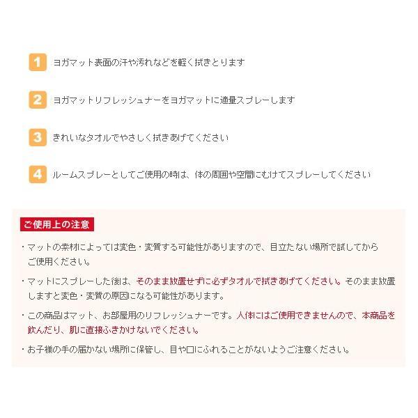 ヨガスプレー シャンティ ヨガマット リフレッシュナー100ml クリーナー 柑橘 アロマ shanti メール便不可 送料別|style-depot|04