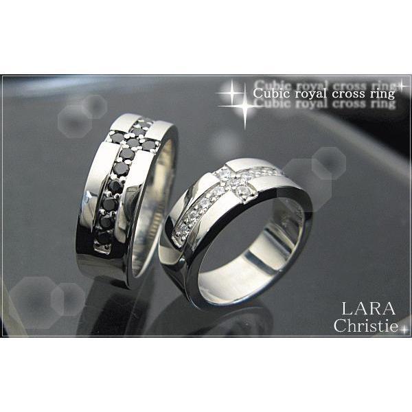 送料無料 LARA Christie ララクリスティー ロイヤルクロス ペアリング 指輪 PAIR Label 誕生日 記念日 プレゼント ギフト 贈り物|style-on-stage|02