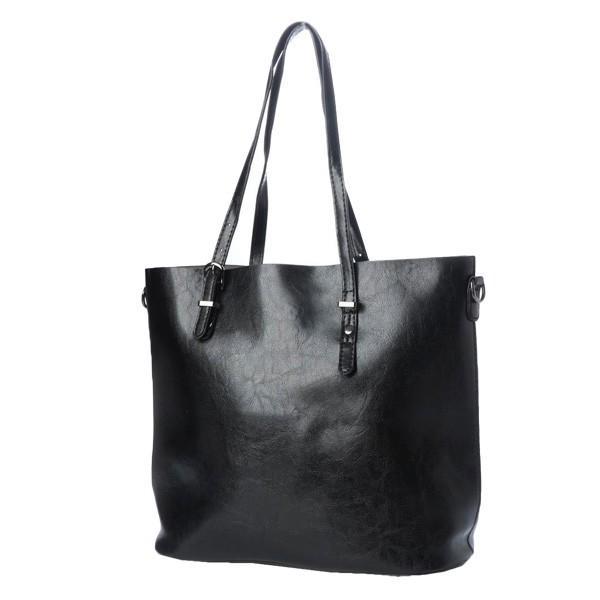 トートバッグ ショルダーバッグ 2way PUレザー 合皮 大きめ 大容量 ファスナー付き 小物 鞄 レディース|styleblock|04
