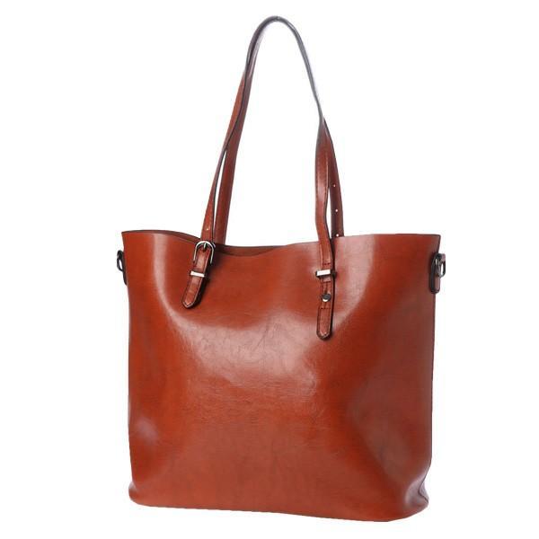 トートバッグ ショルダーバッグ 2way PUレザー 合皮 大きめ 大容量 ファスナー付き 小物 鞄 レディース|styleblock|05
