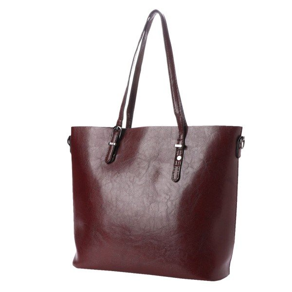 トートバッグ ショルダーバッグ 2way PUレザー 合皮 大きめ 大容量 ファスナー付き 小物 鞄 レディース|styleblock|06