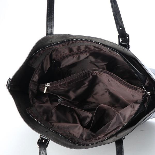 トートバッグ ショルダーバッグ 2way PUレザー 合皮 大きめ 大容量 ファスナー付き 小物 鞄 レディース|styleblock|09